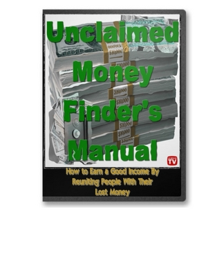 Product picture Unclaimed Money Finders Manual